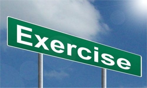 Exercise sign